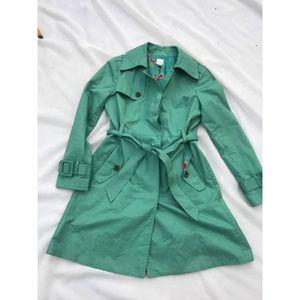 LC Lauren Conrad Belted Trench Coat • 8
